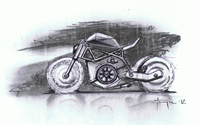 chalk motorcycle